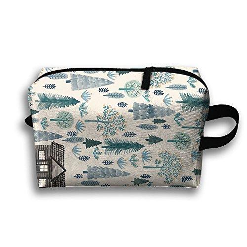 Nice Illustration - Doppyee Nice Illustration Makeup Bag, Storage Bag, Digital 3D Printing Cosmetic Bag,travel Sundries Bag, Portable Handbag