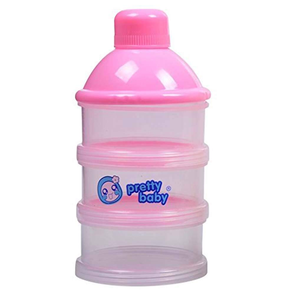 Baby Milk Powder Container Portable Formula Food Storage Dispenser 3 Cell Bottle