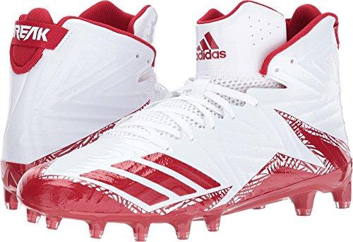 Balls Freak Golf (adidas Men's Freak X Carbon Mid Football White/Red/Red 14 D US)