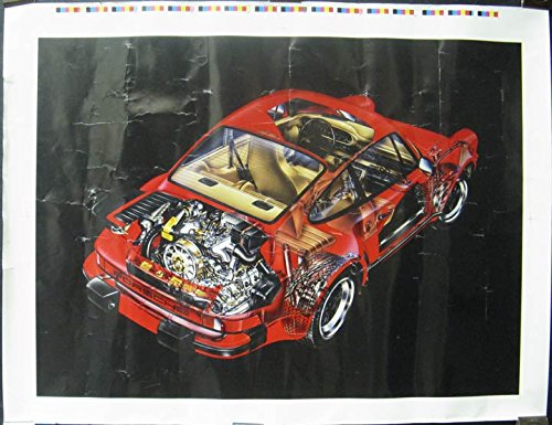 1980 Porsche 911 930 Turbo Poster