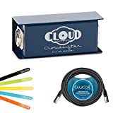 Cloud Microphones CL-1 Cloudlifter 1 Channel Microphone Activator / Preamplifier -INCLUDES- Blucoil 10 ft Balanced XLR Male / Female Cable PLUS 5 Pack Cable Ties