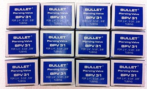 (SUPCO BPV-31 Bullet 3-in-1 Line Tap Piercing Valve, 500 psi Pressure, 1/4