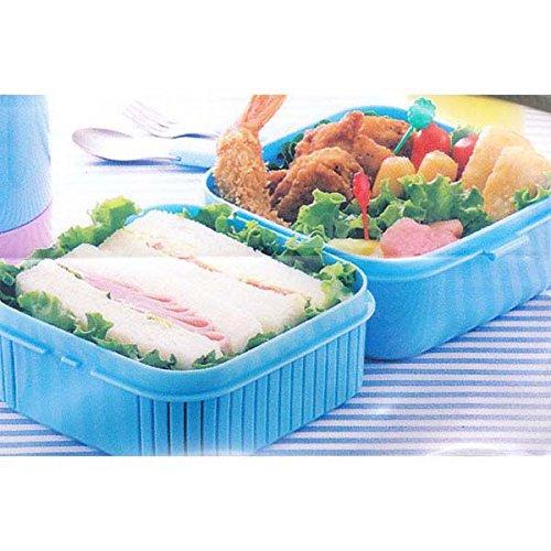 bento kiki 39 s delivery service design 2 tier bento lunch box import it all. Black Bedroom Furniture Sets. Home Design Ideas