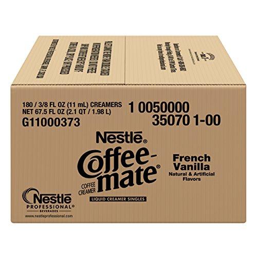 050000350704 - NESTLE COFFEE-MATE Coffee Creamer, French Vanilla, liquid creamer singles, Pack of 180 carousel main 4