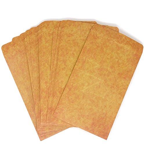 - Honbay 25PCS 12x20cm Light Brown Vintage Kraft Paper Envelopes Gift Envelope Postcard Envelope Greeting Card Envelope Invitation Envelope