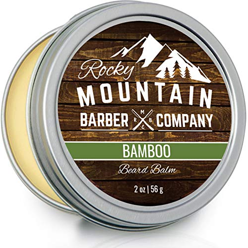 Beard Balm - Made with Natural Oils, Butters, & Rich in Vitamins & Minerals - Argan Oil, Shea Butter, Coconut Oil, & Jojoba Oil to Hydrate, Condition, & Protect Your Beard & Face