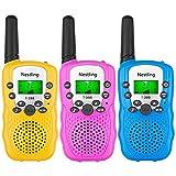 Lospu HY®3 Pack Walkie Talkies for Kids, 3 Miles Range Radio Toy