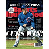 Sports Illustrated Chicago Cubs 2016 World Series Champions Commemorative Issue - Anthony Rizzo Cover: Cubs Win!