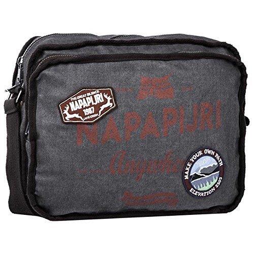 Napapijri GRIEG TOURISTER Tasche Grau N3H03-H85 NA046A