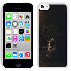 Beautiful And Unique Designed With Night Crypt Death Cemetery Darkness (2) For iPhone 5S Phone Case