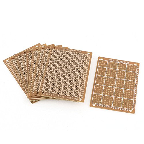uxcell-a15050500ux0130-10-piece-single-sided-pcb-printed-circuit-board-prototype-breadboard-7cm-x-5c