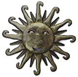Metal Sun – Handcrafted Wall Art From Haiti, Beach Theme Decor, 11″x11″ Review