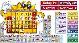 Scholastic Teacher\'s Friend Super Sunshine! Calendar Bulletin Board (TF3105)