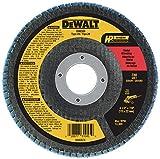 DEWALT Flap Disc, Zirconia, 4-1/2-Inch x