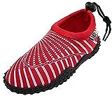 Womens Water Shoes Aqua Socks Pool Beach ,Yoga,Dance and Exercise 1177 Red 6