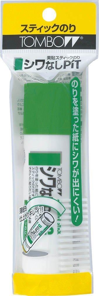 トンボ鉛筆 スティック糊シワなしピットGパック HCA-132 【5セット】