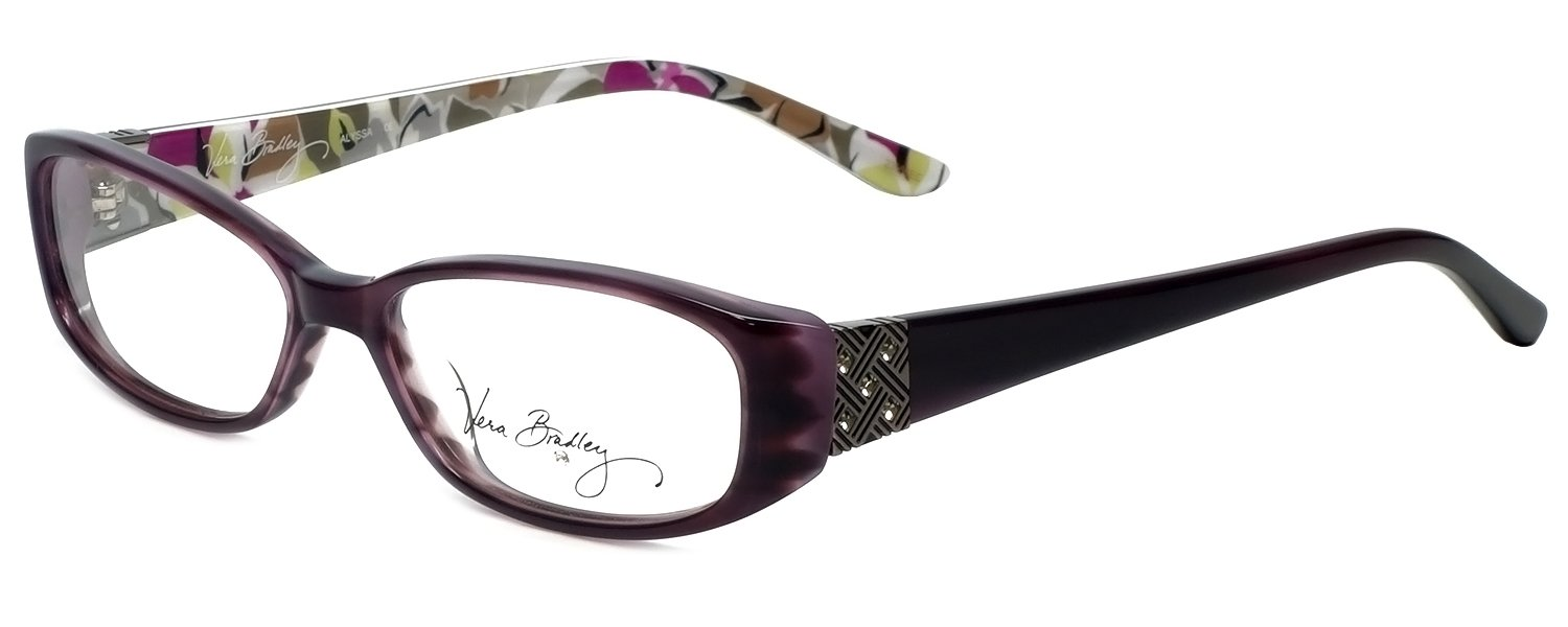 1be4cdba9a Amazon.com  Vera Bradley Designer Eyeglass Frame Alyssa-PRD in Portobello  Road 52mm  Beauty