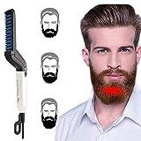 Domini Beard Straightener Comb for Men