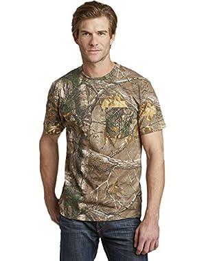 Russell Outdoors Short Sleeve Realtree Camo Pocket T-Shirt