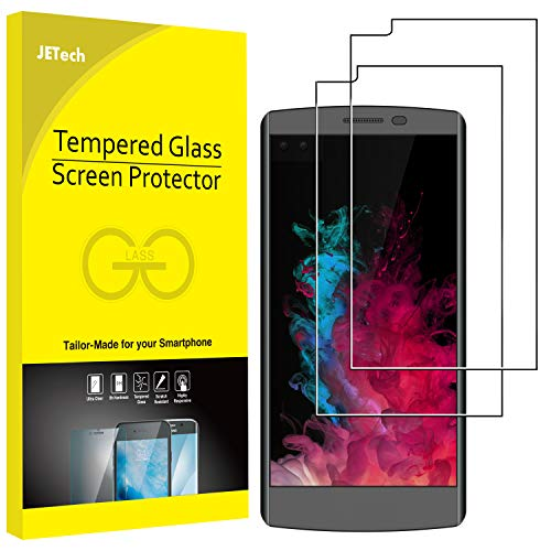 JETech LG V10 Screen Protector, 2-Pack Premium Tempered Glass Screen Protector Film for LG V10-0915