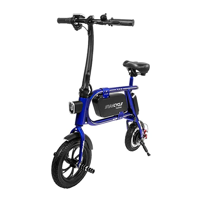 Swagtron 200 W SWAGCYCLE Envy Bicicleta eléctrica Plegable ...