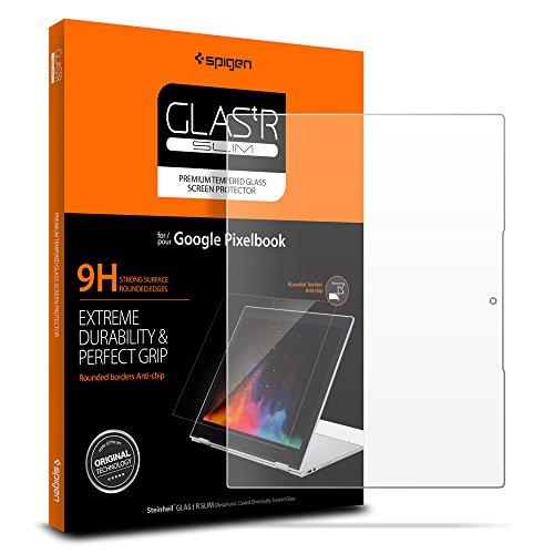 Purchase Spigen Tempered Glass Screen Protector Designed for Google Pixelbook (2017)