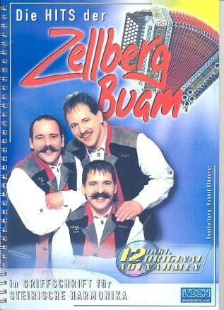 Die Hits der Zellbergbuam. Handharmonika Musiknoten Zellberg Buam Michlbauer GmbH B00006M1UV