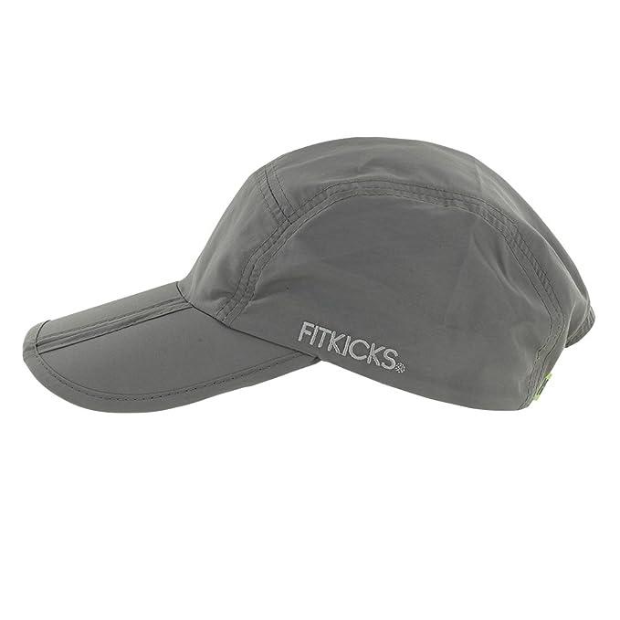 6a12deecbb60f Amazon.com  FitKicks Folding Sun Cap