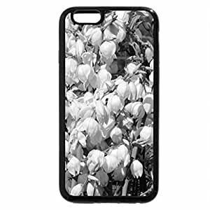 iPhone 6S Plus Case, iPhone 6 Plus Case (Black & White) - Bells And Lilies