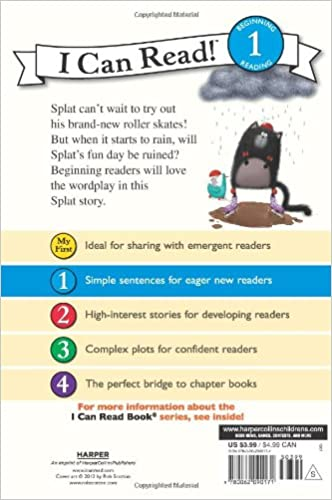 Splat the Cat: The Rain Is a Pain (I Can Read Level 1): Rob ...