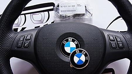36131181082 - Pegatina de emblema de BMW para volante, 45 mm: Amazon.es: Coche y moto