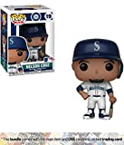 Funko Nelson Cruz [Seattle Mariners]: x POP! MLB Vinyl Figure + 1 Official MLB Trading Card Bundle [#019 / 30220]