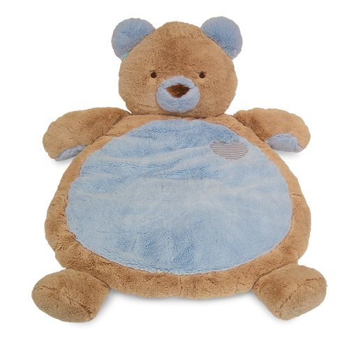 Bestever cute Bear Baby Mat Cuddle Rug Cushion ~BLUE