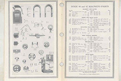 Amazon com: 1915 Splitdorf Dixie Model 40 & 42 Automobile