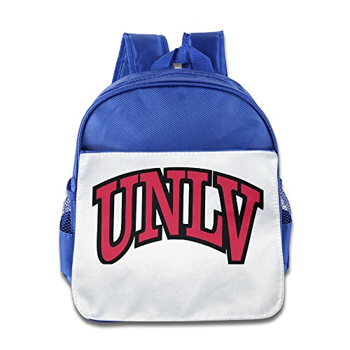 Logon 8 Unlv Logo Cute School Backpacks RoyalBlue For 3-6 Years Olds (Halloween Concert Dallas)