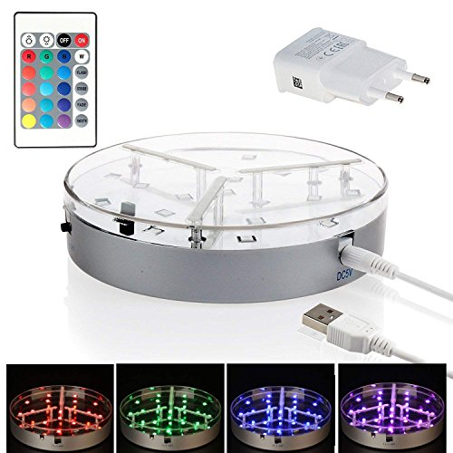 Led Light Plate For Vase in US - 8