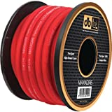 DB LINK MKPW4R100 Maxkore(TM) 100% OFC Copper Soft-Touch Power & Ground Wire (4 Gauge, 100ft, Red Power) electronic consumer