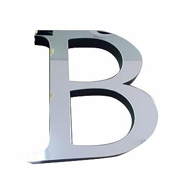 3CLifewaren Buchstaben Folie Sticker Spiegel Basteln Hobby Deko ...