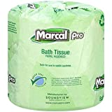 #8: Marcal Pro #05002, 100% Recycled, Green Seal Certified Toilet Paper, 2-Ply, 500 sheets per roll, 96 rolls per case