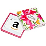 Amazon.ca $100 Gift Card in a Floral Box (Classic White Card Design)