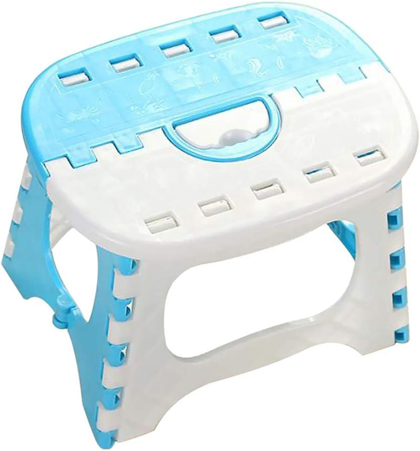 Baosity Portable Folding Step Stool Bathroom Footstool for Kids Pink/_2
