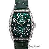 フランク・ミュラー トノウカーベックス クレイジーアワーズ 5850CHD グリーン文字盤 メンズ 腕時計 新品 [並行輸入品]