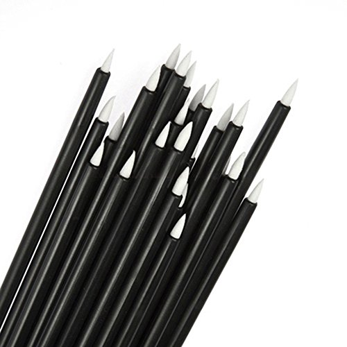 50pcs Disposable Makeup Tool Eyeliner Liquid Wand Applicator Brushes