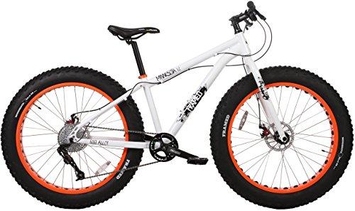 Framed Minnesota 1.2 White/Orange Fat Bike Sz 15in ()