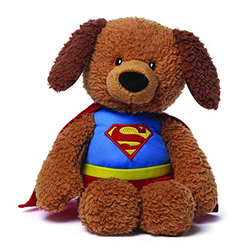 GUND DC Comics Superman Griffin Teddy Bear Stuffed Animal Plush, 12