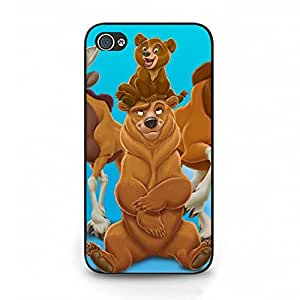 Classical Cute Popular Disney Anime Brother Bear Phone Case Cute Cover for Iphone 4 4s