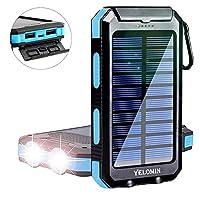 Solar Power Bank,Yelomin 20000mAh Portab...