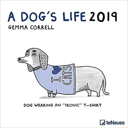 2019 A Dog's Life Grid Calendar por Gemma Correll epub
