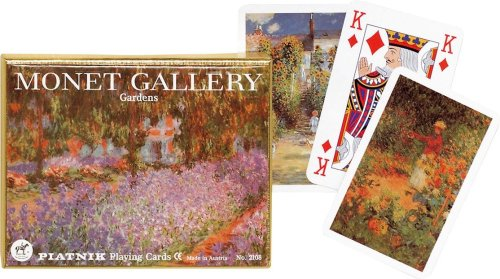 Piatnik Monet Gardens Playing Cards by Piatnik