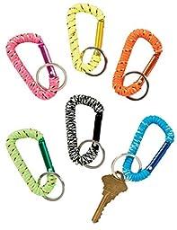 Raymond Geddes Carabiner Clip Key Chain, 24 Pack (69955)